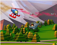 Helicopter shooter HTML5 tablet játék