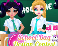 Jacqueline and Eliza school bag design contest tablet játékok ingyen