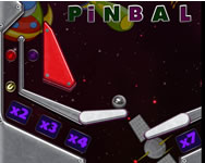 Space adventure pinball tablet HTML5 játék